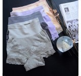Munafie High Waist Shaping Panties (2 Pcs Set -Mix Color)
